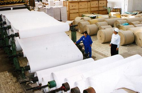 Bột đá được ứng dụng trong sản xuất giấy