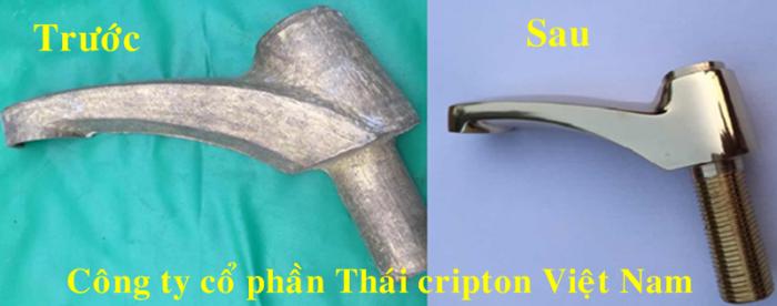 Hiệu quả đánh bóng của Thái Cripton Viêt Nam. Cung cấp các loại thiết bị đánh bóng kim loại hiệu quả.